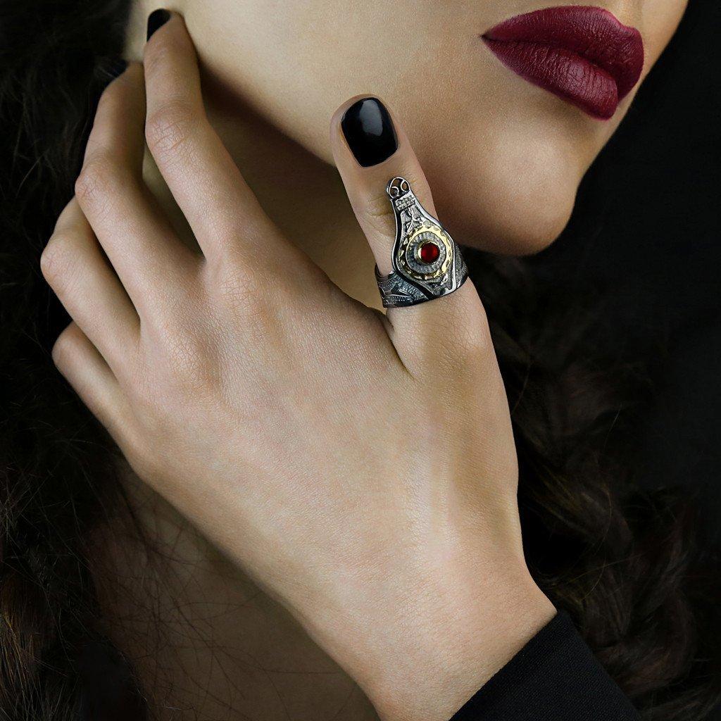 Pregomesh ring