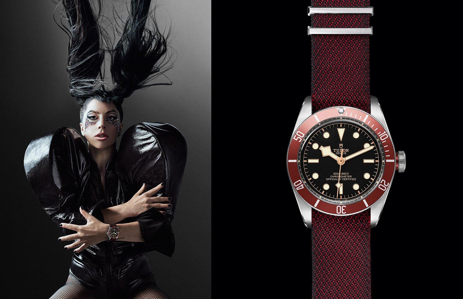 Леди Гага стала новой посланницей бренда Tudor