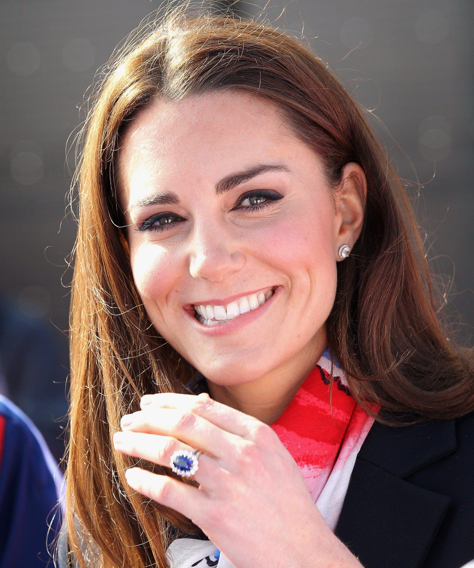 Настоящая история помолвочного кольца Кейт Миддлтон