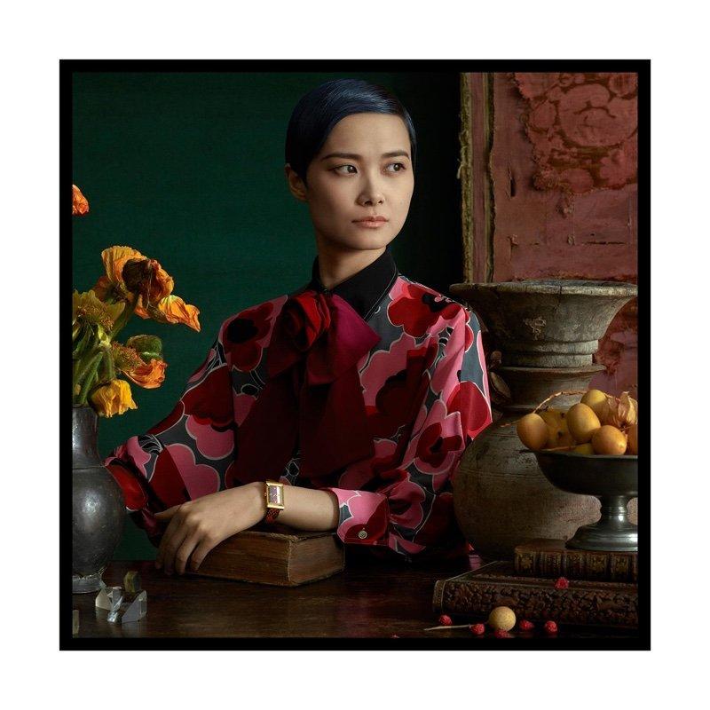 Фото Крис Ли в ювелирных украшениях от Gucci напоминают полотна старинных мастеров
