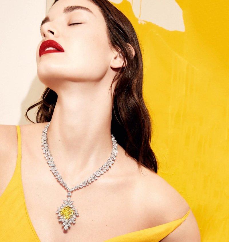 Офели Гиллерман блистает в рекламной кампании ювелирного дома GRAFF DIAMONDS