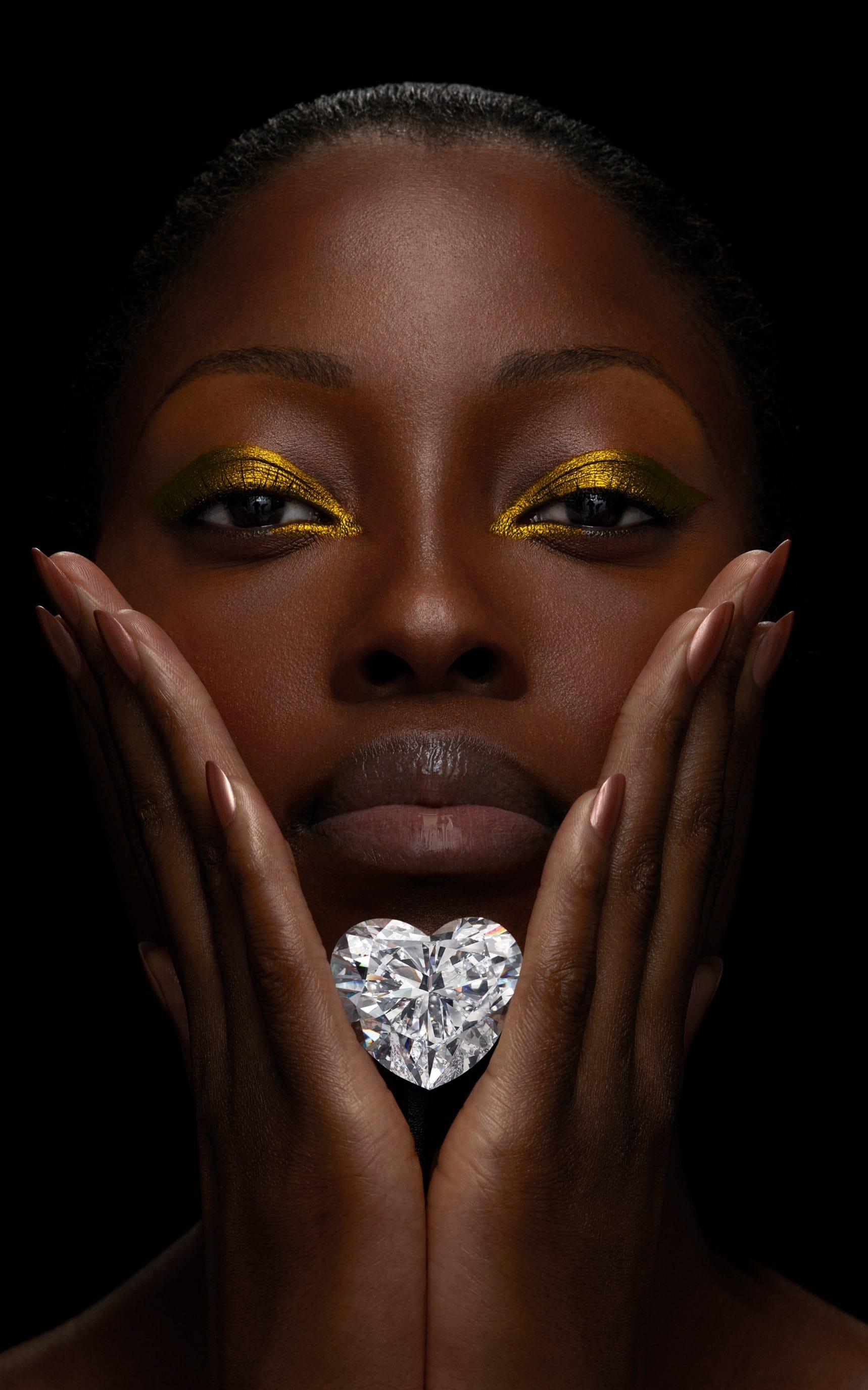 Ювелирная марка Graff представляет «Венеру», самый большой в мире бриллиант в форме сердца безупречного качества