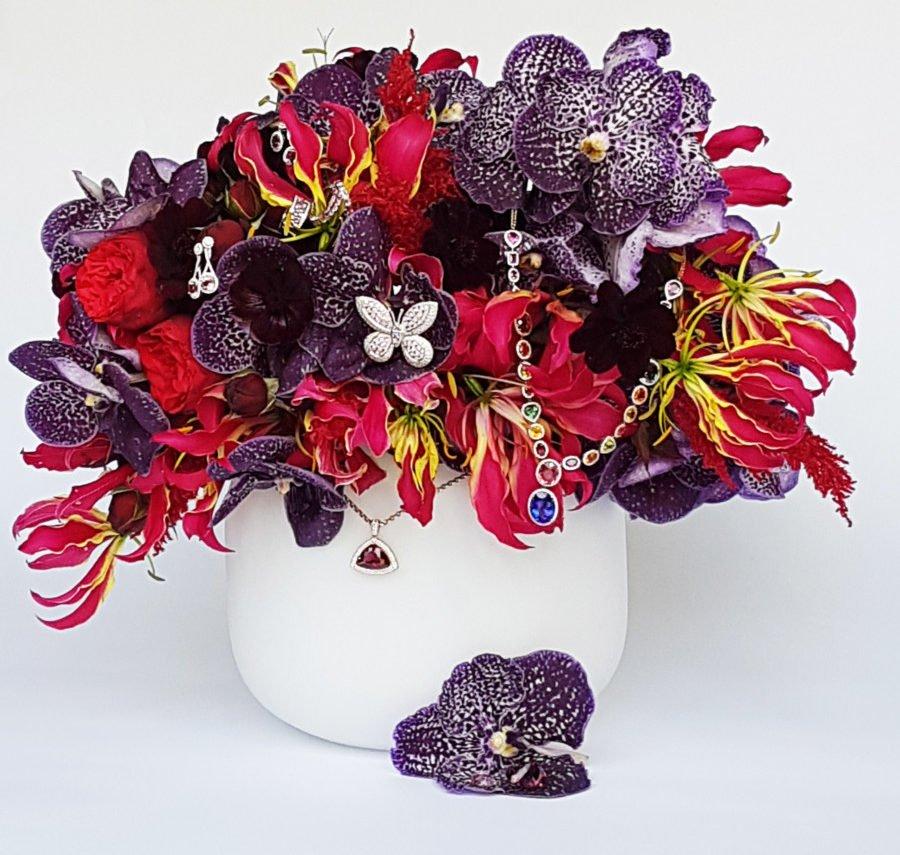 Tivon Fine Jewellery создали самый дорогой цветочный букет в Европе