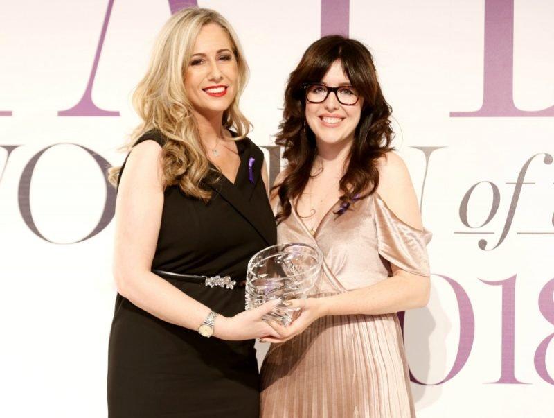 Дизайнер ювелирных украшений завоевала престижную награду в рамках церемонии «Женщины года» в Ирландии