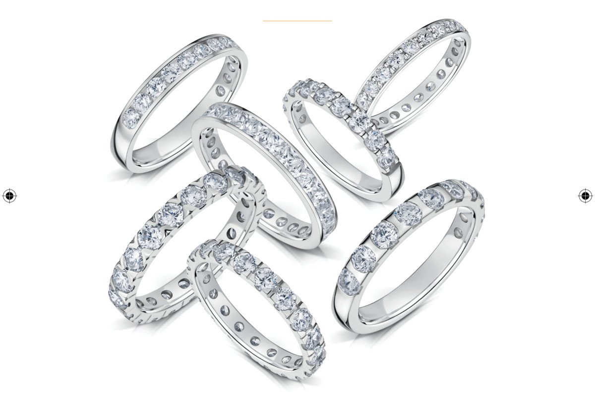 Поставщик свадебных товаров выпустил коллекцию обручальных колец с набором вспомогательных инструментов для оптимизации процесса продаж