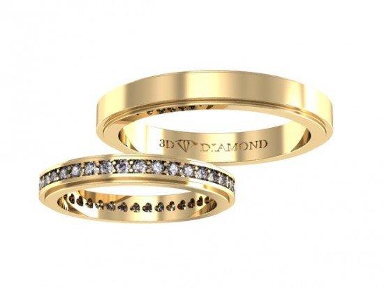 брендовые обручальные кольца фото