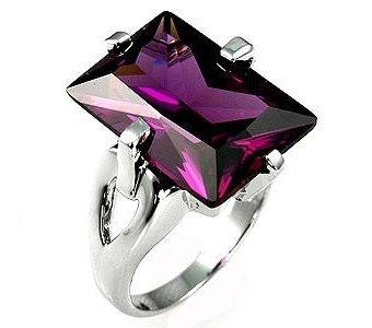 серебро кольцо сапфир