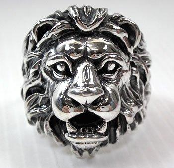 фото кольца печатки со знаком льва