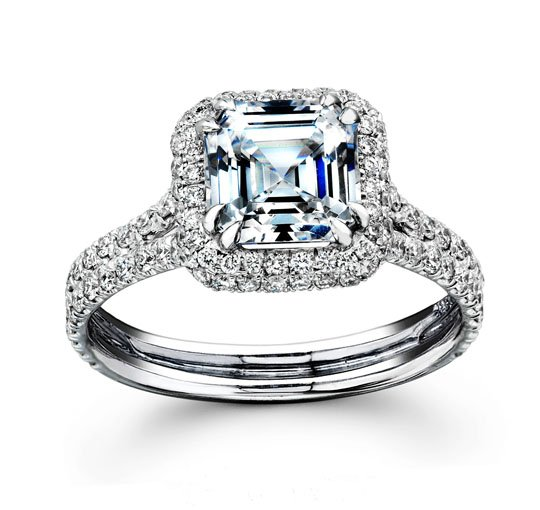 Классическое обручальное кольцо с