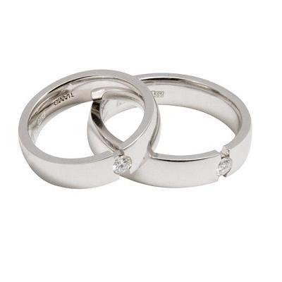 белое золото кольца цена фото