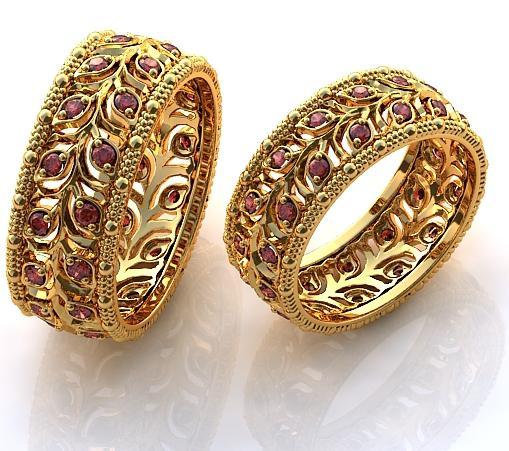 Самые дорогие обручальные кольца в мире фото