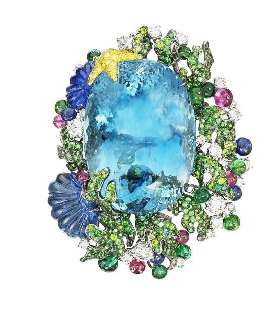 #51 Siren brooch