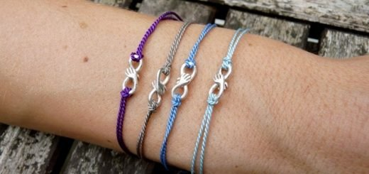 Silk-thread-bracelets
