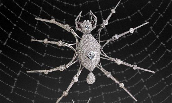 Spiderblack-ring
