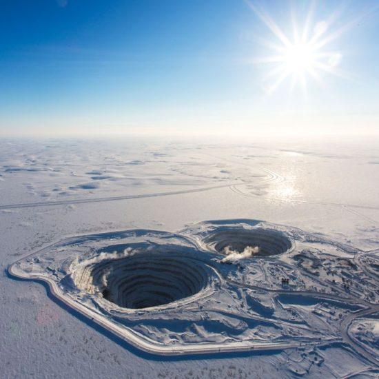 Алмазная шахта Дарвик