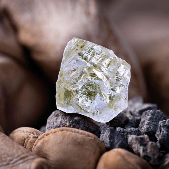 Алмаз Diavik Foxfire
