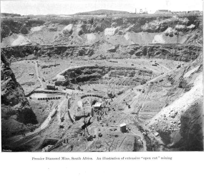 Алмазная шахта в Южной Африке