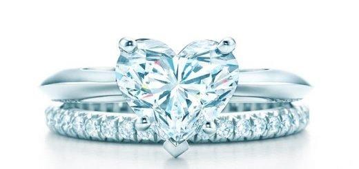 Помолвочное кольцо Tiffany&Co